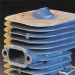 Kemény krómbevonatú hengerfal nagyobb kopásállóságot és hosszabb termékélettartamot biztosít.