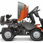 Husqvarna R 420TsX AWD vágóasztallal