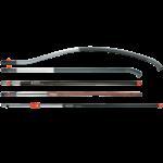 A GARDENA combisystem termékek bármely GARDENA combisystem nyélre felhelyezhetők. Válasszon tetszése szerint egy fából vagy alumíniumból készült nyelet.