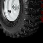 Az X-trac futófelületű gumiabroncsok különösen jó tapadást biztosítanak.