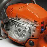 Magnézium forgattyúsház. Az erős forgattyúsház magas fordulatszámon professzionális használat mellett is ellenálló és biztosítja a gép hosszú élettartamát.