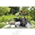 Nemesacél házának köszönhetően a Premium 6000/6 inox kerti szivattyú különösen erős felépítésű és hosszú élettartamú.
