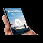 Az iOS-re és Androidra letölthető, ingyenes GARDENA smart app-pel mindig kézben tarthatod a szivattyú nyomását vagy a szállított víz mennyiségét.