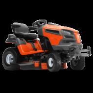 Husqvarna TS242TXD oldalkidobós fűnyíró traktor, sajtolt vágóasztallal