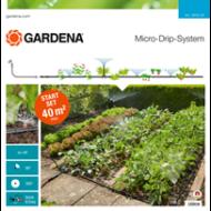 GARDENA Csepegtető rendszer - Indulókészlet virág- és növényágyásokhoz