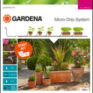 GARDENA  Csepegtető rendszer - Indulókészlet cserepes növényekhez M