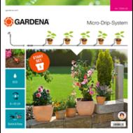 GARDENA  Csepegtető rendszer - Indulókészlet cserepes növényekhez S
