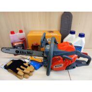 Oleo-Mac GSH 400 láncfűrész -Mindent bele csomag