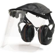 Husqvarna Hallásvédő perspex arcvédővel