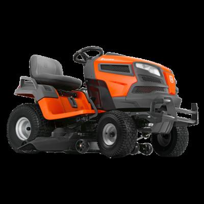 Husqvarna TS342 oldalkidobós fűnyíró traktor